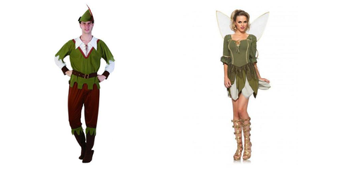 Peter Pan Couples Halloween Costume Ideas