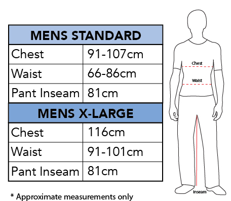 Rubies Disney Men's Size Chart