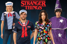 Stranger Things 80's Kids Adult Costumes