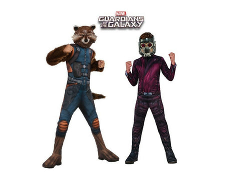 Star Lord Rocket Raccoon Guardians of the Galaxy Costumes Brisbane Buy Hire
