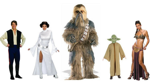 ... and ultimate dress up costume Darth Vader followed closely by the lovable Chewbacca - Be sure to book in early to secure these costumes to hire.  sc 1 st  Disguises Costumes & May the Fourth Be With you!