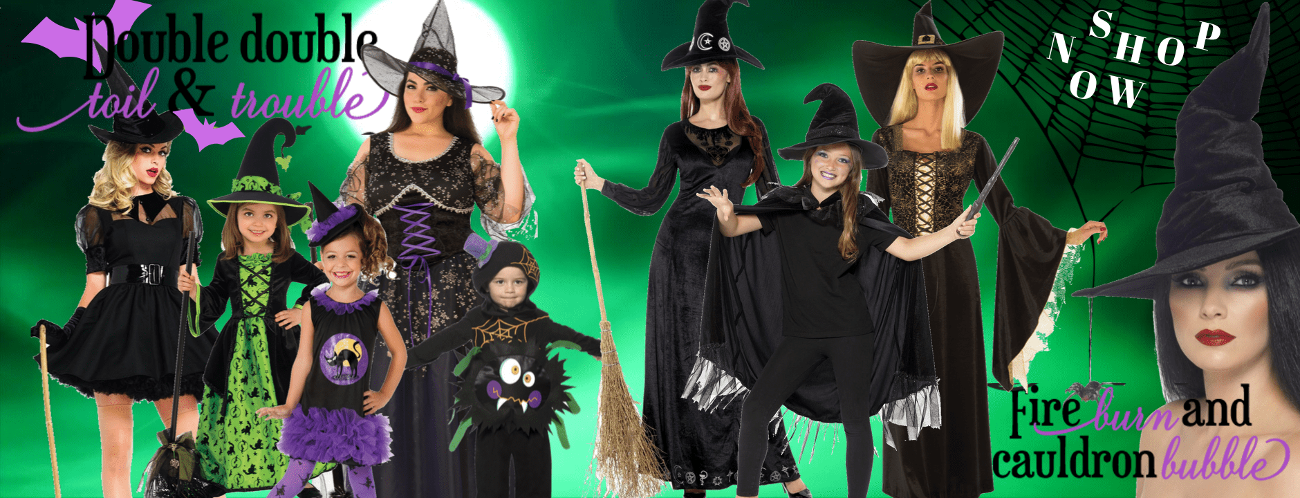 Witch Costumes Women Men Buy hire Children
