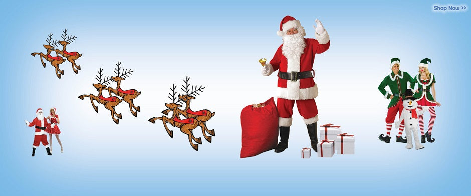 Christmas In July Costumes & Fancy Dress Accesories