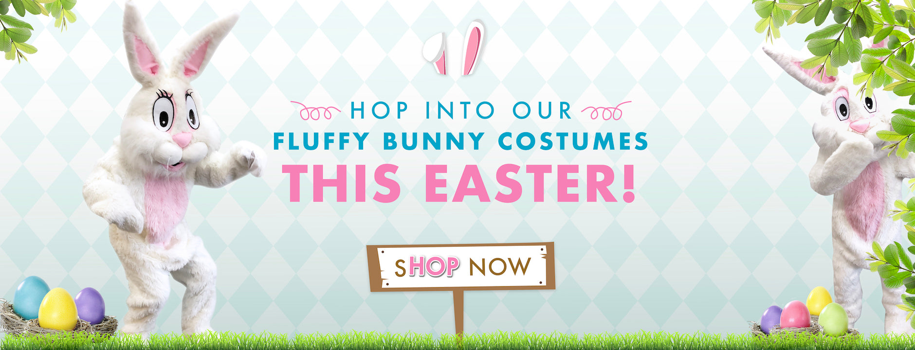 Easter Bunny Costumes to buy and hire