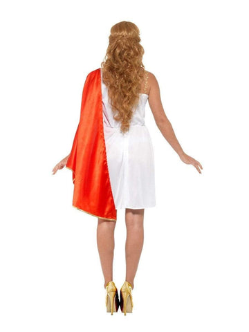 Roman Toga Costume for Ladies back