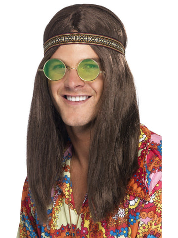 60s 70s Hippie Accessories Dress Up Costume Kit