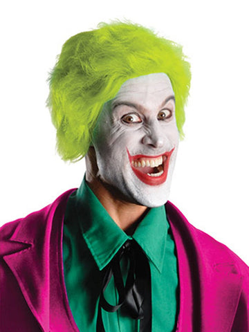 The Joker 1966 Collector's Edition Costume for Men wig