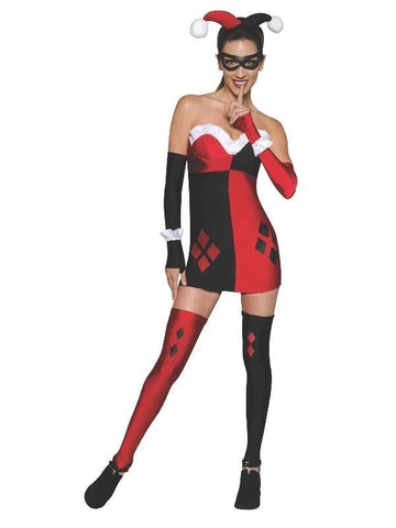 Harley Quinn Costume Dress for Adults