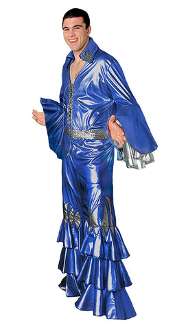 Abba Male Blue Mamma Mia Mens Hire Costume