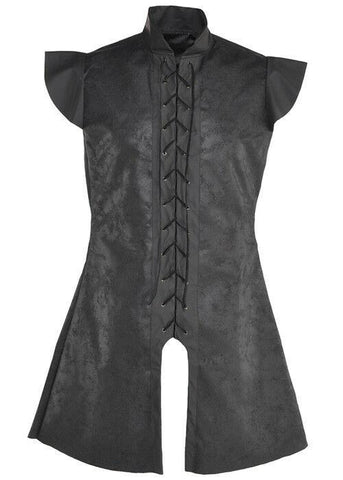 Medieval Warrior Tunic Black Knight