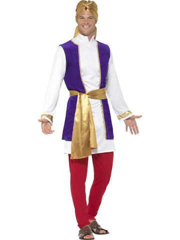Arabian Nights Prince Aladdin Men's Bollywood Costume