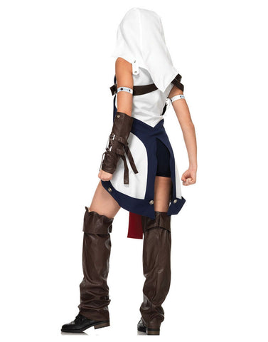 Assassin's Creed Connor Girl Womens Adult Halloween Cosplay Costume