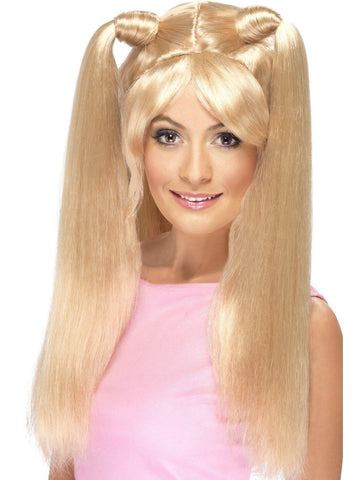 Baby Spice Girl Power Costume Wig Womens 90s Costume Accessory