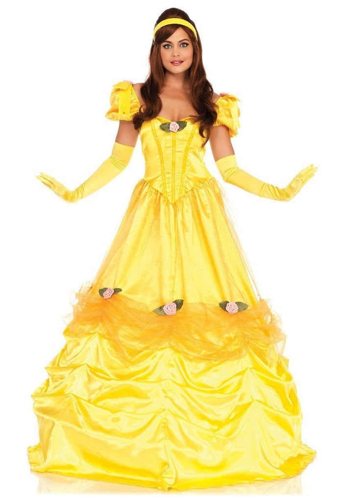 Belle Of The Ball Adult Costume Princess Beauty Fancy Dress Ball Gown Disguises Costumes Hire Sales