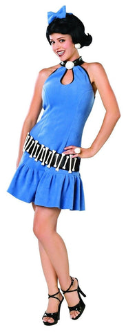 Licensed The Flintstones Betty Rubble Adult Womens Costume Fancy Dress Outfit