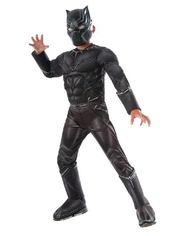 Marvel's Avengers Civil War deluxe Black Panther child costume