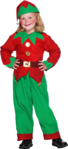 Christmas Elf Costume.Children S Christmas Elf Costume Disguises Costumes