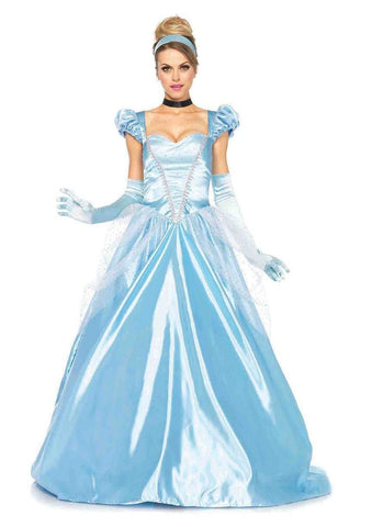 Cinderella Classic Fairytale Princess Ball Gown Costume
