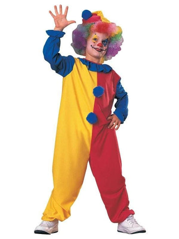 Classic Clown Children's Costume