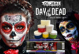 Day Of The Dead Face Paint Set