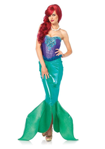 Deep Sea Siren Princess Mermaid Adult Costume