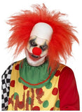 Deluxe Red Clown Wig with Bald Head