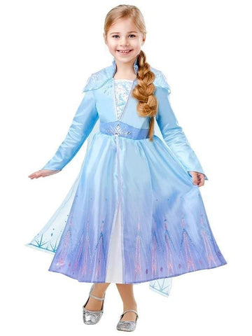 Frozen 2 Disney Elsa Girls Costume