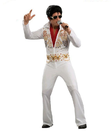 Elvis American Eagle Adult Costume Jumpsuit Fancy Dress