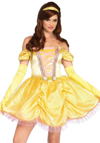 Bell Princess Storybook Beauty Adult Fairy Tale Costume