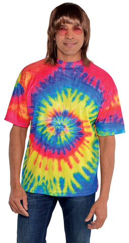 Groovy 60s Men's Tie Dye T-Shirt