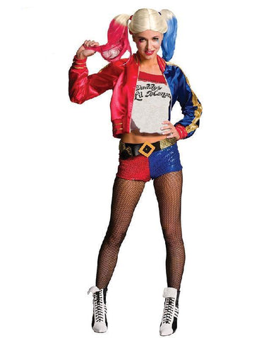 Harley Quinn Fancy Dress Suicide Squad Costume Fully Licensed Outfit