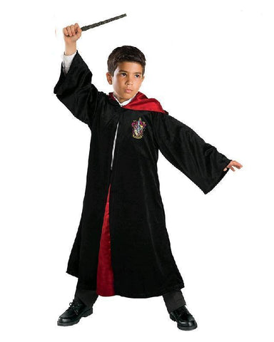 Harry Potter Deluxe Gryffindor Robe Child Book Week Costume