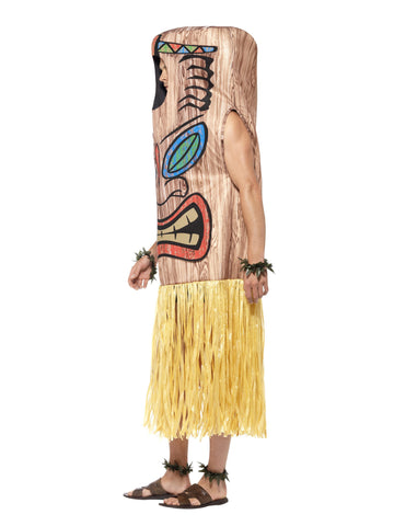Hawaiian Luau Tiki Totem Costume side