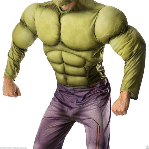 Costumes Men - Hulk Age of Ultron Muscle Adult Costume Marvel Comics Halloween Fancy Dress
