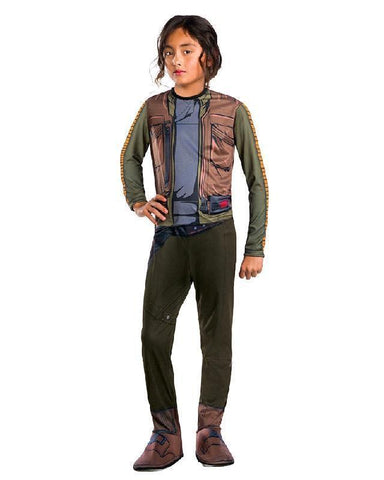Jyn Erso Rogue One Classic Children's Costume Star Wars Fancy Dress
