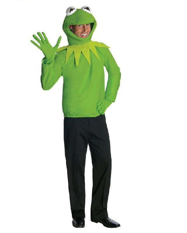 Kermit The Frog Muppets Adult Costume