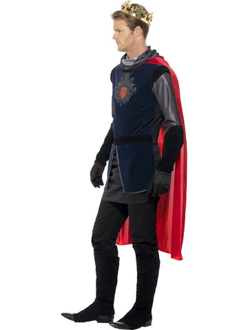 King Arthur Men's Medieval Deluxe Knight Costume side