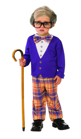Little Old Man Boys Fancy Dress Costume