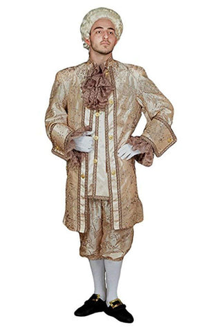 Louis XVI Antique Rose Mens Hire Costume