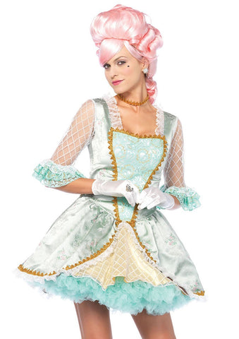 Marie Antoinette Deluxe Bastille Day French Woman Hire Costume