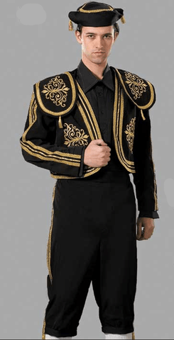 Matador Spanish Bullfighter Men's Hire Costume