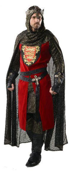 King Richard Medieval Collector S Edition Fancy Dress Hire