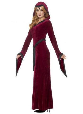 Medieval Vampiress Women's Halloween Costume side