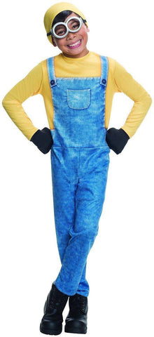 Minion Bob Child Costume Despicable Me Fancy Dress Party Outfit