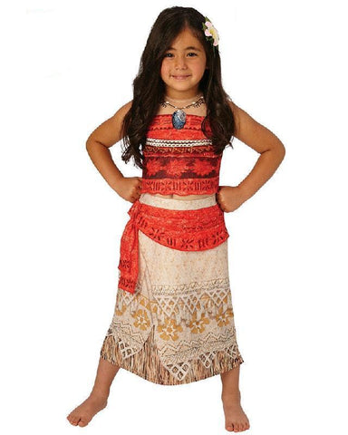 Moana Deluxe Licensed Disney Child Costume