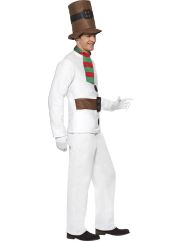 Mr Snowman Novelty Adult Christmas Costume side