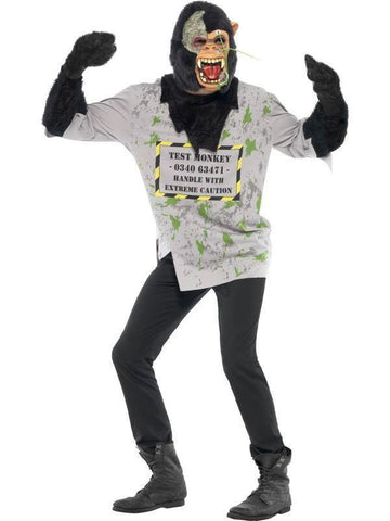 Mutant Monkey Halloween Party Fancy Dress Costume Outfit