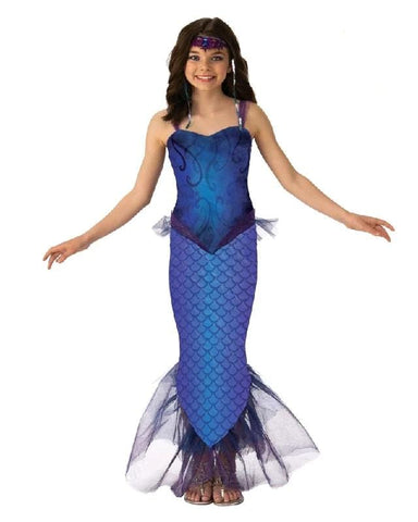 Mystical Magical Mermaid Deluxe Girls Costume