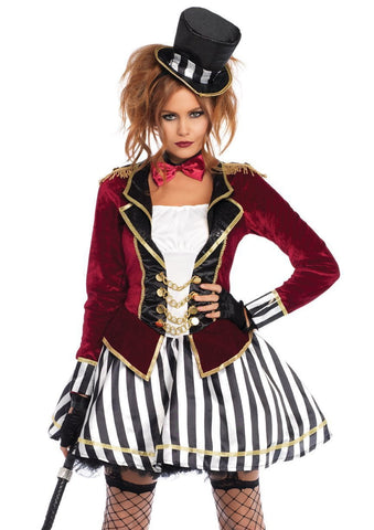 Night Ringmaster Women's Circus Costume