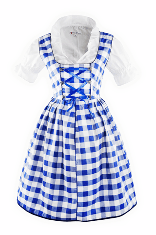 Oktoberfest Traditional German Beer Girl Costume Dirndl Bettina shown without apron